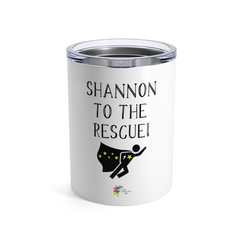 Personalized Stainless Steel Tumbler  To The Rescue  image 0