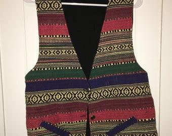 Traditional Tribal Pattern Vest
