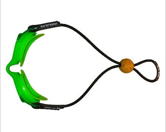 Green Poolgles, Swimming Goggles, Kids Goggles, Easy Adjust Swimming Goggles, Floating Swimming goggles