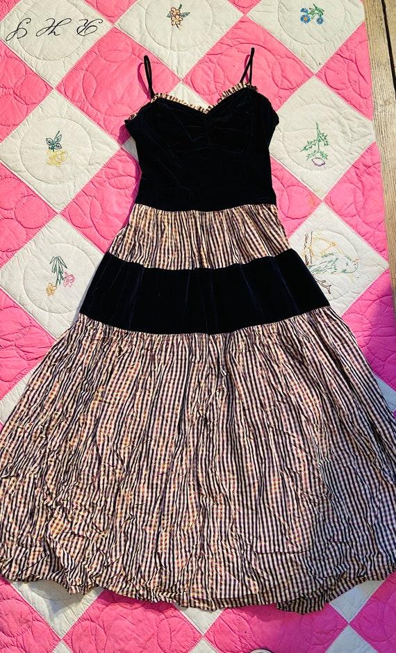 1940s Flare Dress