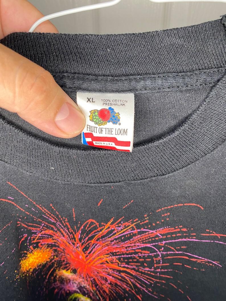 Vintage 90/'s Jackson Hole Fireworks t-shirt