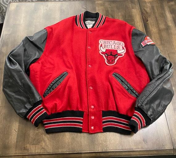 Vintage 2000 NBA Chicago Bulls Leather/wool letter