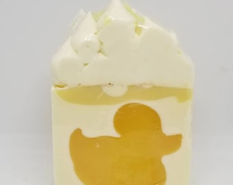 Luxurious Handmade Soap scented with May Chang Essential Oil