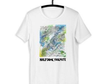 Half dome t shirt | Etsy