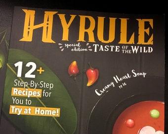 Hyrule: Taste of the Wild zine