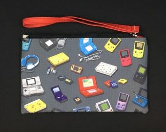 Gaming Handhelds Zipper Bag