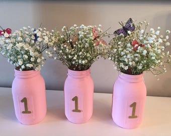 Mason Jar Centerpieces For Birthday Oueiodexis Bedsandmattresses