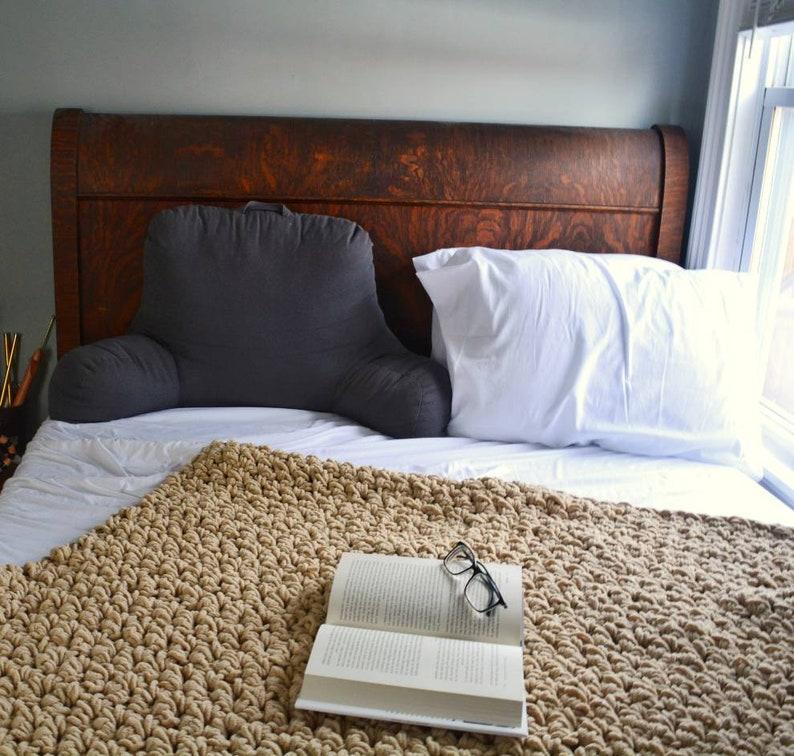 dark lavender sofa throw Handmade crochet blanket PURPLE soft throw ready to ship soft lap blanket