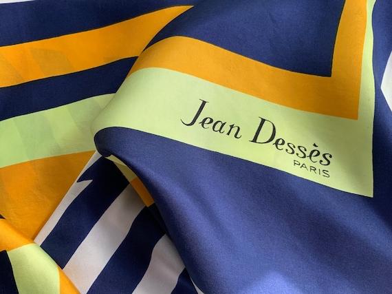 Jean Desses silk kerchief