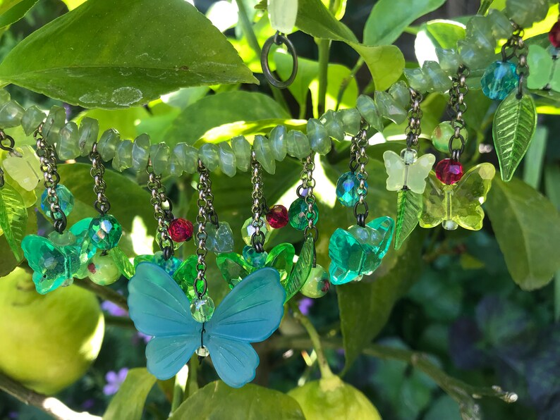 Langani design butterfly necklace