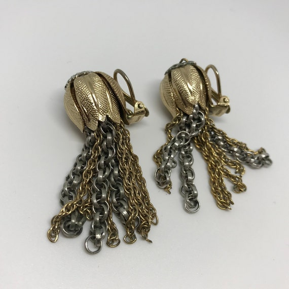 Napier clip on earrings