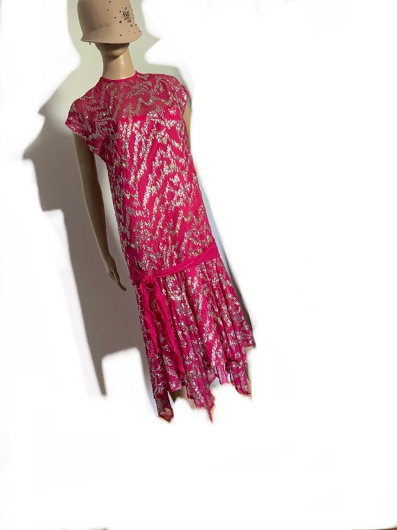 Ann Green 20s style flapper dress