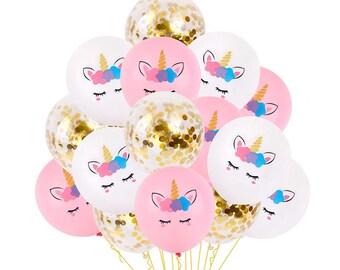 298b3512032 UNICORN BALLOONS Party Decorations- Unicorn Baby Shower
