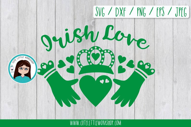 c69eb5d5ad1ee Irish love svg, Claddagh ring svg, Irish love, friendship, loyalty symbol,  svg dxf eps png jpg, cutting files, silhouette cricut