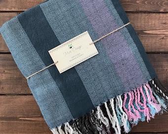 Turkish Delight Towel - Blue Stripe