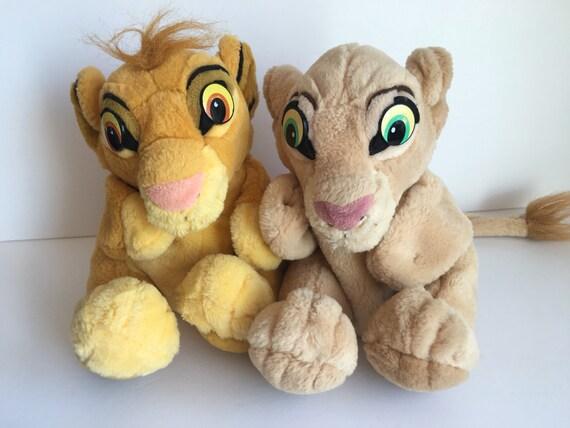 Applause Lion King Puppets Simba Nala Cub Stuffed Animal Plush Etsy