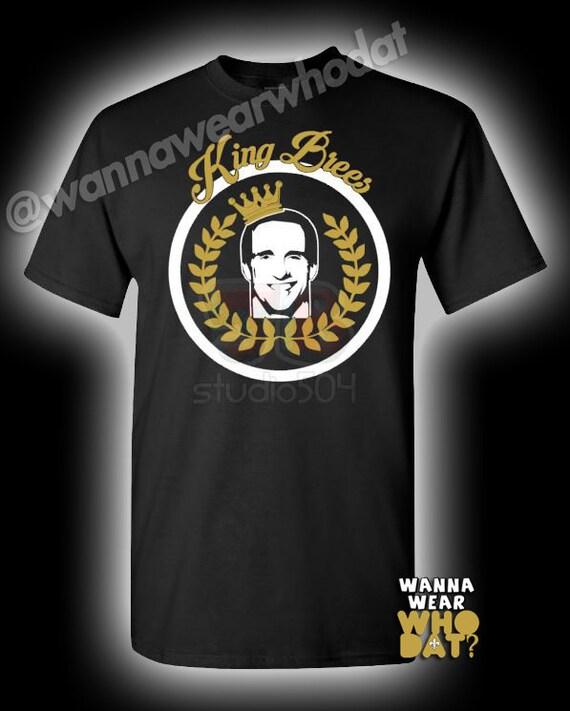 King Brees Shirt Saints Drew Brees Fan Football T Shirt Whodat
