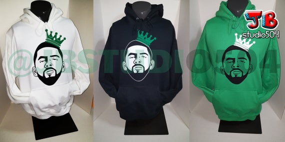 timeless design fa315 47f74 King Kyrie (Irving of the BOSTON CELTICS 11 Point Guard) HOODIE - Christmas  Sweatshirt Hoodie