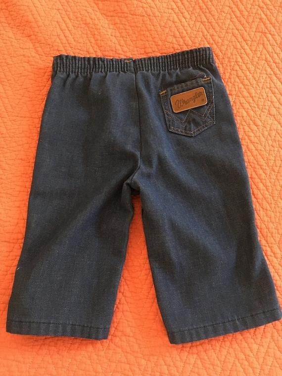 Vintage 1960s Baby Wrangler Denim Jeans