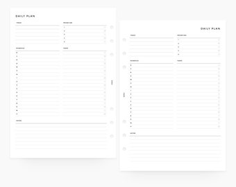 image relating to Cute Hourly Planner named Hourly planner Etsy