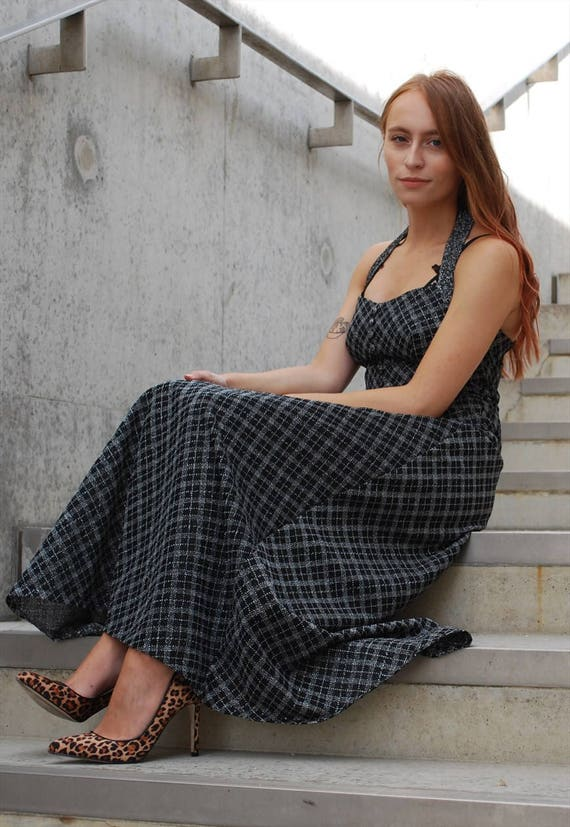 Vintage 1970's Gothic dress