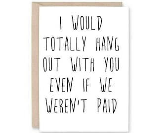 Funny Co Worker Anniversary Card Work Anniversary Work Etsy
