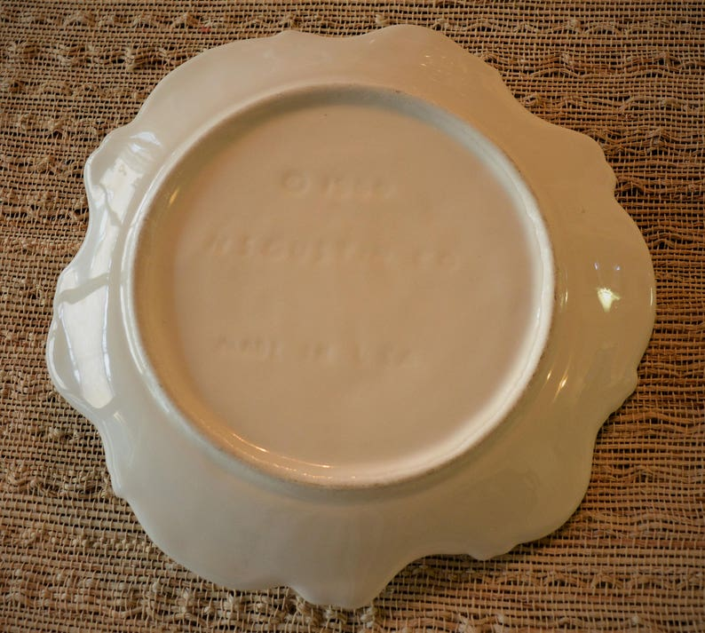Made in USA 1960 Gustin Bonbon Candy Serving Plate SALE ** Vintage N.S