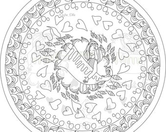 Own your rhythm - printibale colouring page