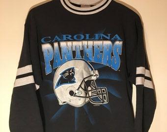 b21b139c3 Vintage NFL Carolina Panthers Crewneck
