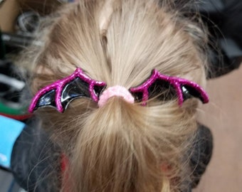 Bat hair clips (set of 2)