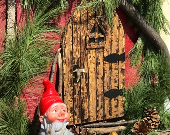 Fairy Door / wall fairy door / large gnome door wood fairy door gift for girls room elf pixie fairy garden faerie doors fairy doors fairies