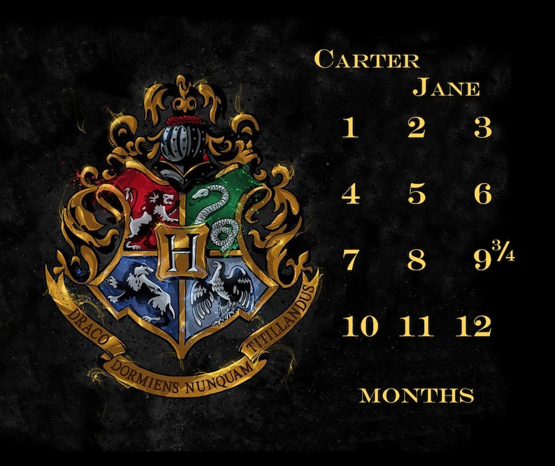 Hogwarts House Crest