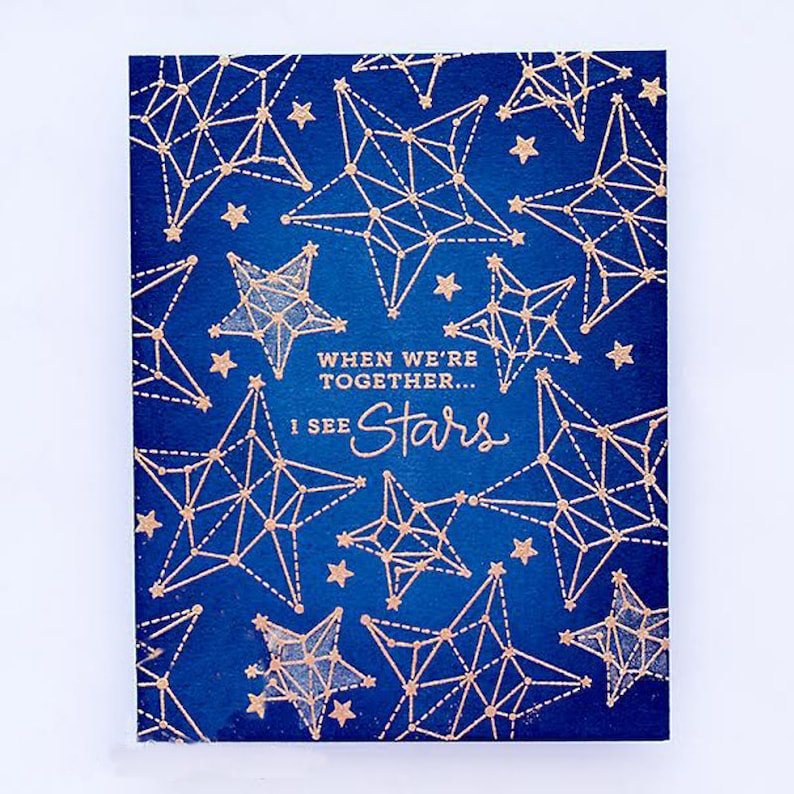 Seeing Stars Transparent Clear Silicone StampSeal for DIY ScrapbookingPhoto Album Decorative Cards Making Clear Stamps 4x6inch