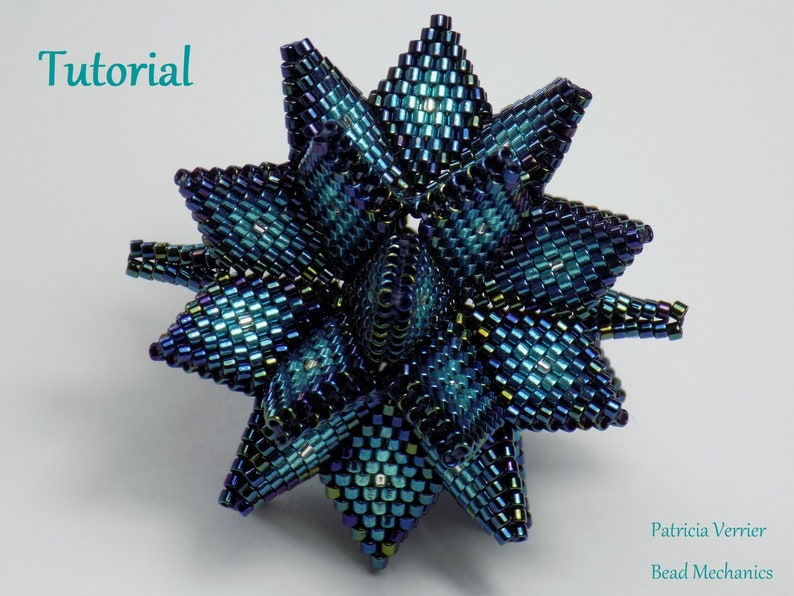 Tutorial for Hypernova beaded dodecahedron image 0