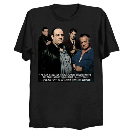 T The The Sopranos Sopranos ShirtEtsy A5c4S3RjLq