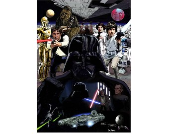 Star Wars - Art Print/Poster