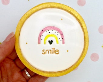 Sister Birthday Gift Handmade Clay Dish Sister Keepsake Gift Sister Trinket Dish Sister Home Gift Sister Thinking of You by janeBprints