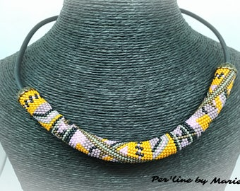 The Choker necklace seed bead