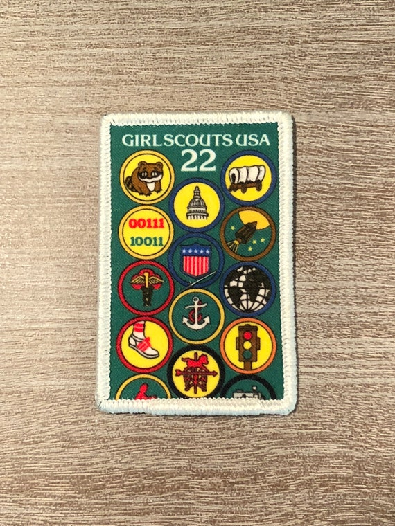 girl scout badge/patch