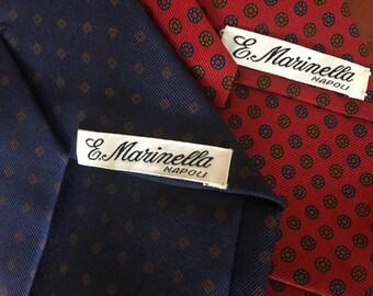 Cravatta MARINELLA - Napoli - Made in Italy a9e7ed50da5b
