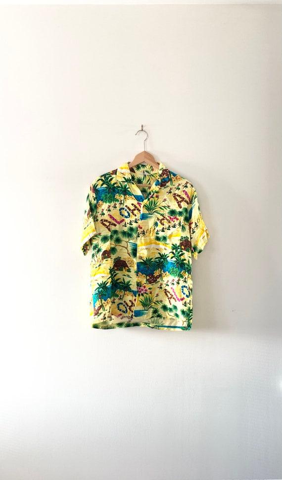 1950s/60s Kiilani Hawiian Shirt - Medium / Aloha S