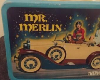 Mr. Merlin Metal Lunch Box