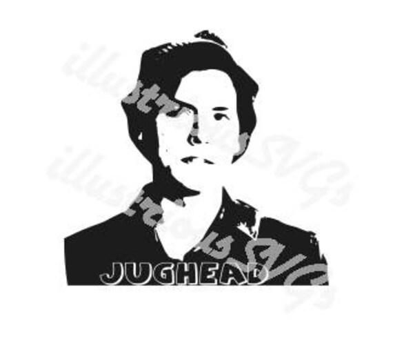 jughead jones riverdale svg  etsy