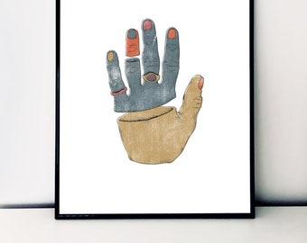 Hand Illustration / A3 Print