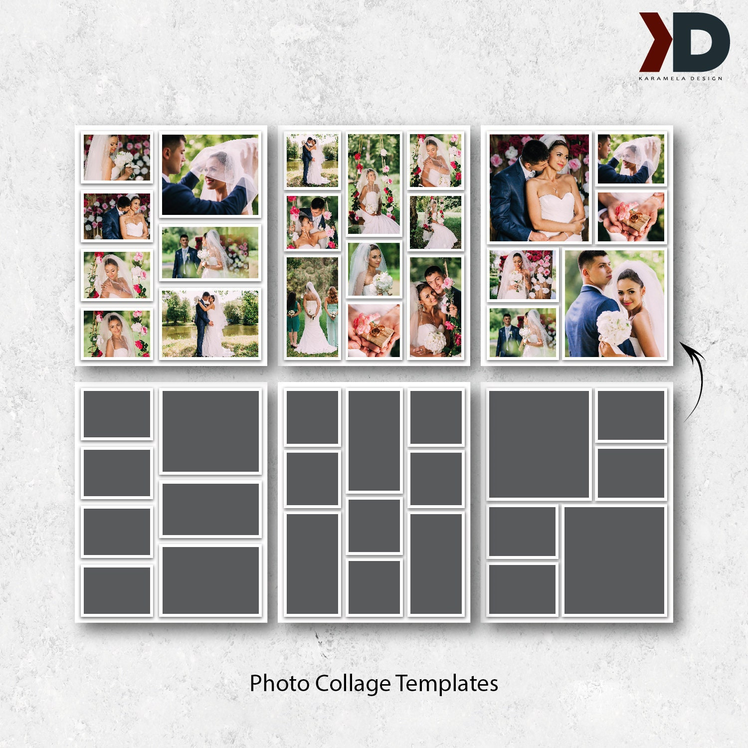 8x10 Blog Board Templates Collage Templates