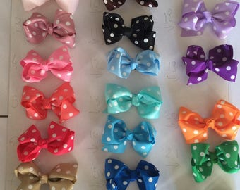fabric color Barrette
