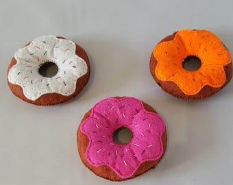 Donuts - felt - tea party - food market