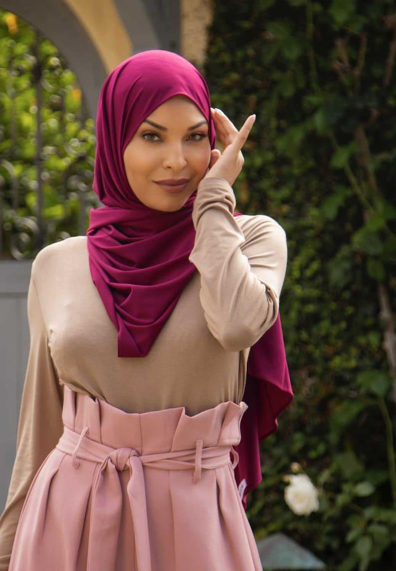Plum Milk Silk Hijabmodest fashion maxi dress with sleeve modest dresses