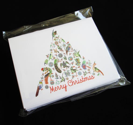 Christmas Mahjong.Merry Christmas Mahjong Greeting Cards And Envelopes Set Of Ten From Vintage Mahjong Tiles