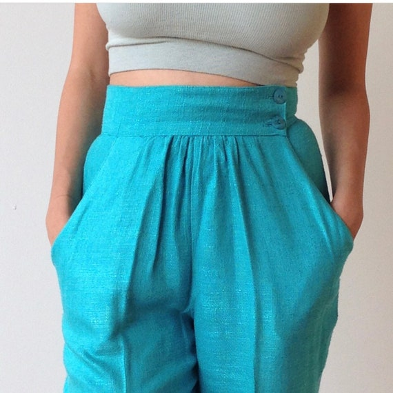 Vintage Rayon Trousers